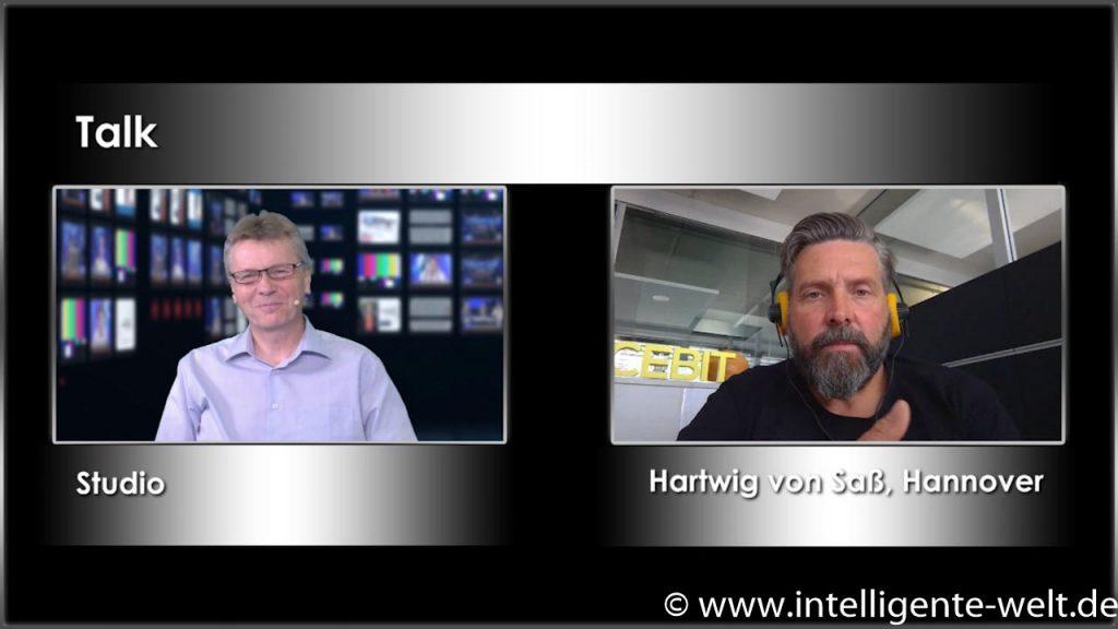 Im Talk: Christian Spanik und Hartwig von Saß