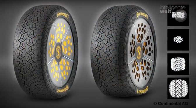 Continental: Ausblick auf die intelligenten Reifen der Zukunft