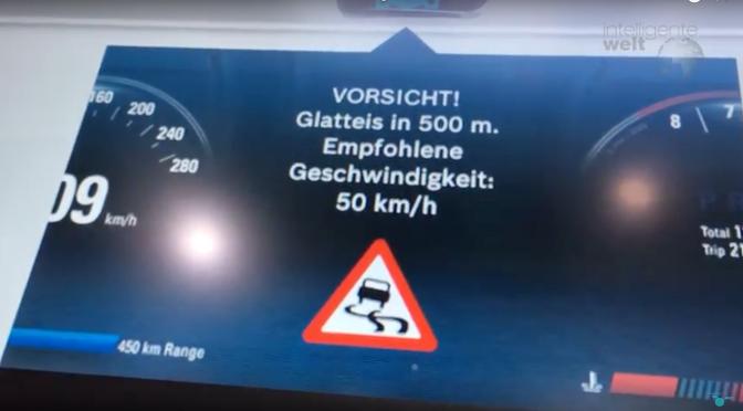 Weitblick für autonome Autos: Straßenzustands-Service von Bosch