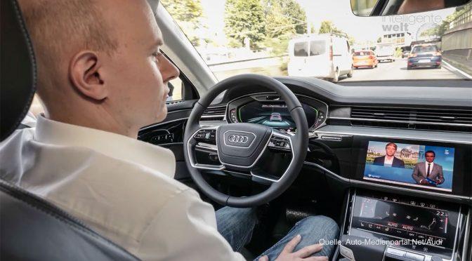 Audi A8: Enge Integration zwischen Smartphone und Auto – und: vorbereitet für Level 3