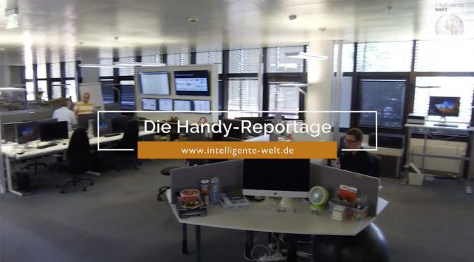 Die IW-Smartphone-Story: Das Listening-Center bei der Rheinischen Post Mediengruppe