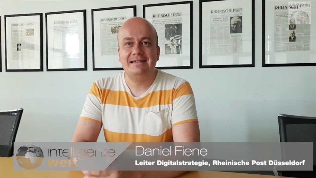 """Daniel Fiene, Leiter Digitalstrategie bei der Rheinischen Post Mediengruppe: """"Alle Kollegen sollen unser Recherchetool nutzen."""""""