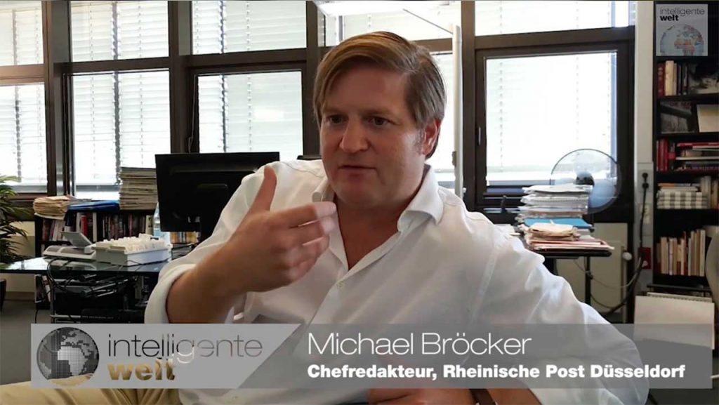 """Michael Broecker, Chefredakteur bei der Rheinische Post Mediengruppe: """"Das Listening Center ist Chance statt Zwang. Ich freue mich über jeden Kollegen, der es ernst nimmt."""""""