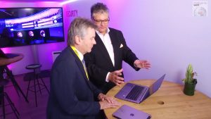 Christian Spanik spricht mit Dirk Backofen, Leiter Security bei der Deutschen Telekom, über Cybersicherheit und das Cyber Defense Center der Telekom.