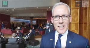 Dr. Stefan Wolff, Vorstandsmitglied der BVL, erklärt die neuen digitalen Angebote des Vereins.