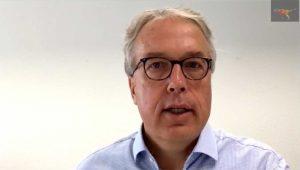Thomas Müller-Kassner, T-Systems, weist auf die besonderen Randbedingungen für Sicherheitslösungen in der Logistik hin.