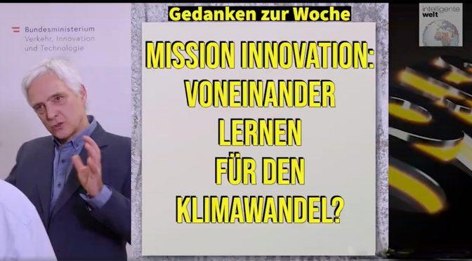 Mit Michael Paula im Gespräch: Mission Innovation für nachhaltige Energie