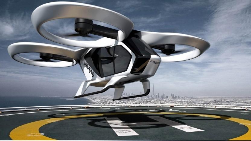 """Das geplante Lufttaxi """"Lilium Jet"""" wird von 36 unabhängigen Elektromotoren angetrieben. Bild: Lilium"""
