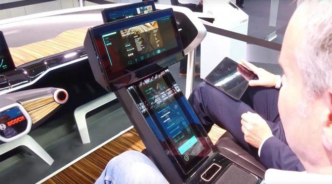 Bosch Concept Car: Bedien-Konzepte fürs teilautonome Fahren