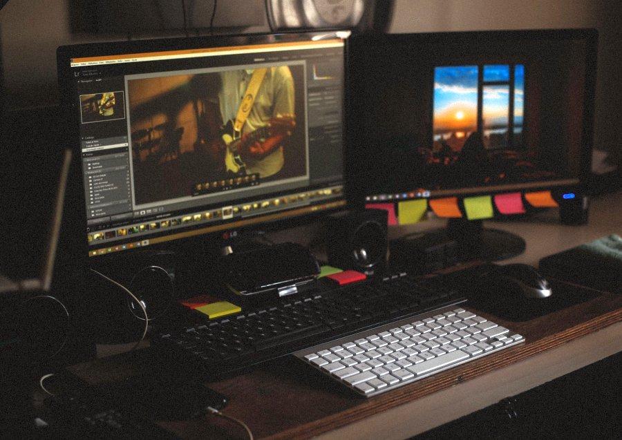 Digitaltechnik spielt heute eine entscheidende Rolle bei der Produktion von Medien.