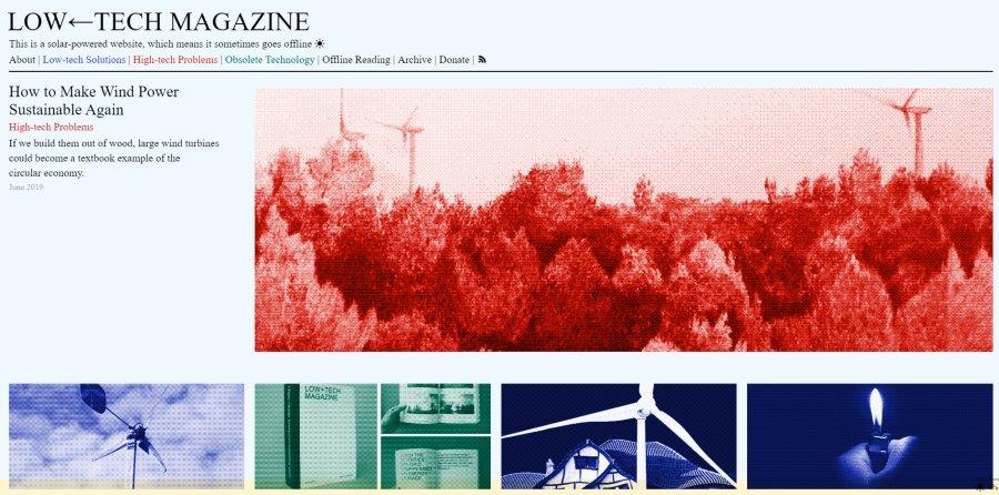 Digitalisierung und Schutz der Umwelt mal anders: Diese Webseite ist nur online, wenn die Sonne scheint.
