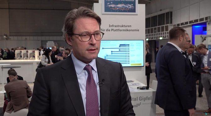 Interview mit Bundesminister Andreas Scheuer: Digitale Plattformen und intelligente Netze