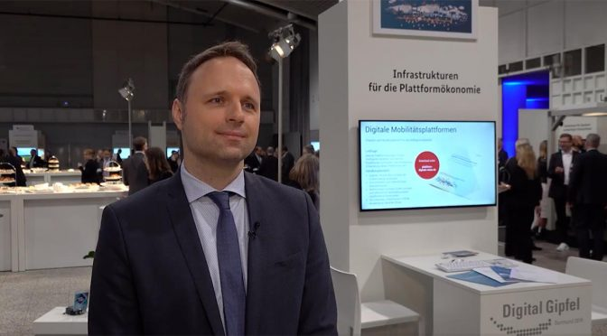 Interview mit Daniel Gille, T-Systems: Worum geht es bei der Plattform Digitale Netze und Mobilität?