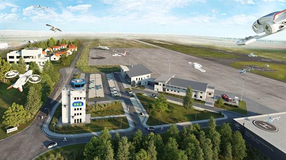 Magdeburg-Cochstedt entsteht jetzt unter Leitung der Deutschen Gesellschaft für Luft- und Raumfahrt (DLR) ein Nationales Erprobungszentrum für Unbemannte Luftfahrtsysteme – also Flugdrohnen.
