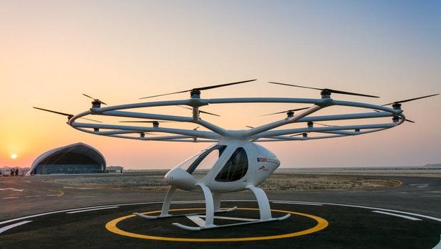 Volocopter hat für sein Lufttaxi VoloCity bereits die Zulassung bei der amerikanischen Luftfahrtaufsichtsbehörde FAA beantragt.