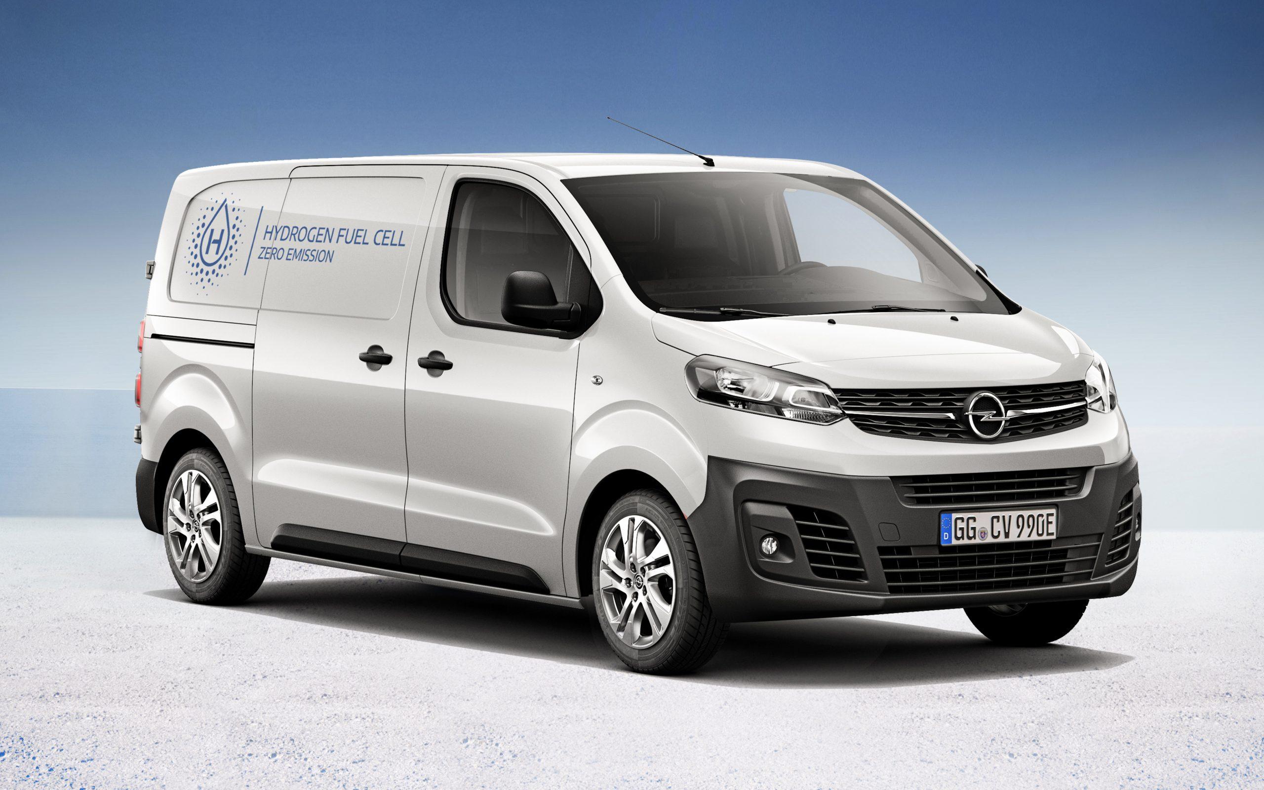 Der Opel Vivaro-e Hydrogen ist eines der wenigen Wasserstoff-Fahrzeuge in der Klasse der Kleintransporter.