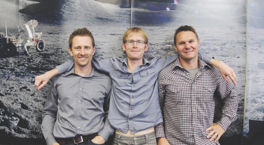 Chris Boshuizen, Will Marshall and Robbie Schingler, die Gründe von Planet Labs im Jahr 2010