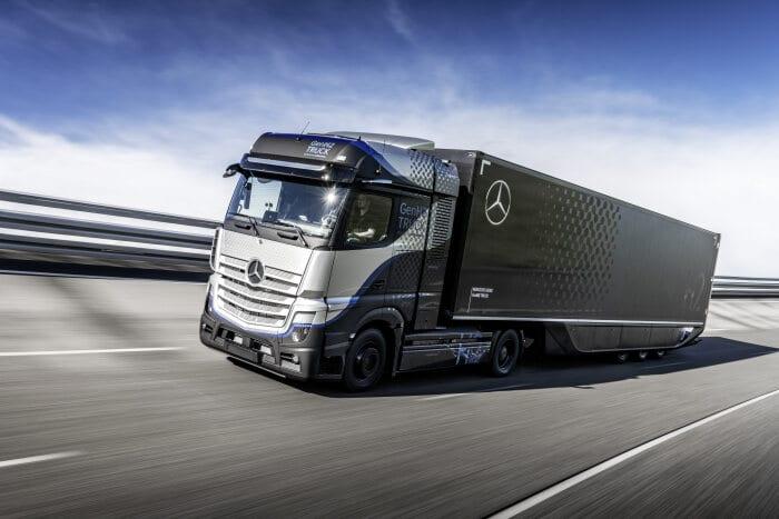 Der Brennstoffzellen LKW GenH2 von Daimler Trucks soll 2027 in Serie gehen.