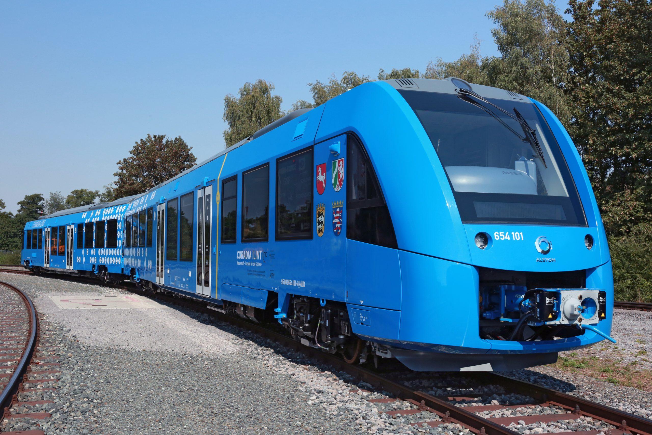 Alstom baut den den ersten Wasserstoff betriebenen Zug.