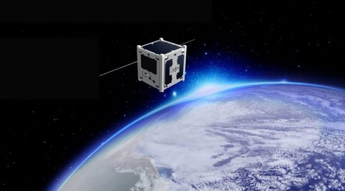 Kaum Schuhschachte große Nanosatelliten helfen bbei der Demokratisierung des Weltraums.