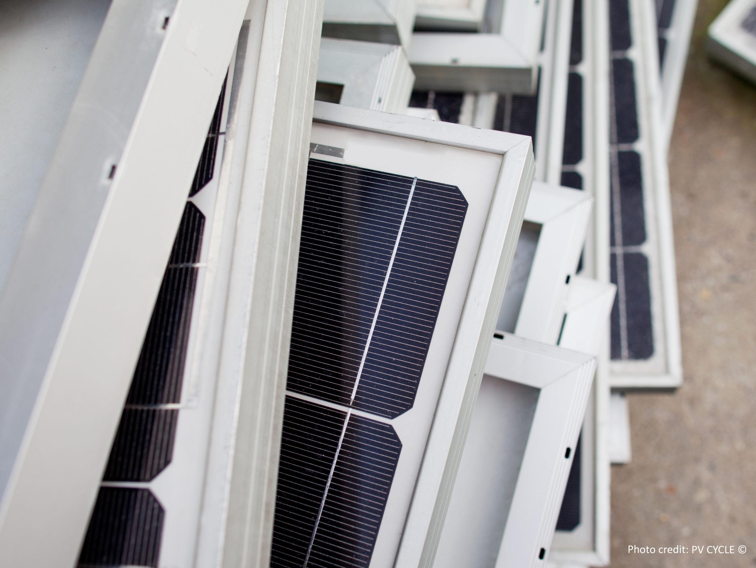 Recycling von PV-Modulen: In ihnen stecken viele wertvolle Rohstoffe.