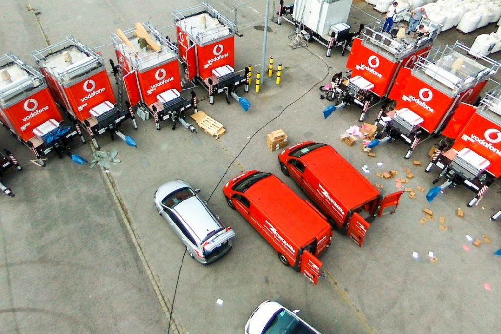 Steht keine andere Option zur Verfügung, sorgen Dieselgeneratoren für die Stromversorgung.